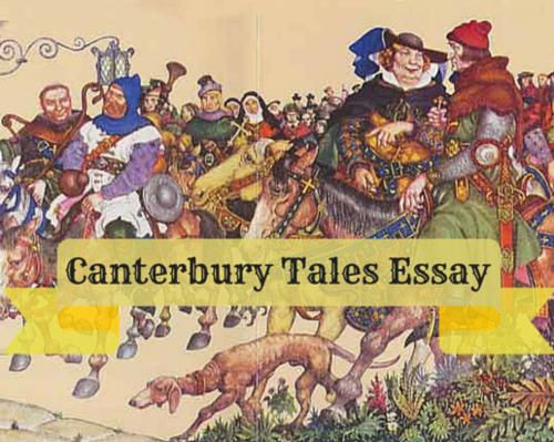 Content canterbury tales essay