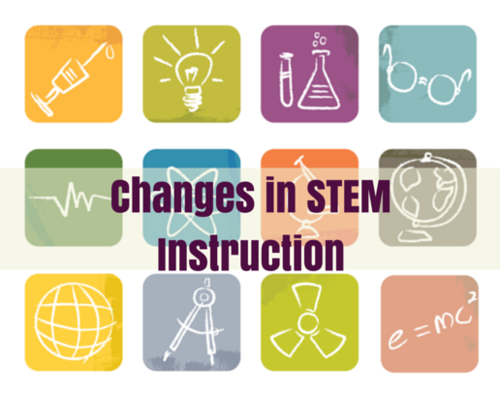 Content changes in stem instruction