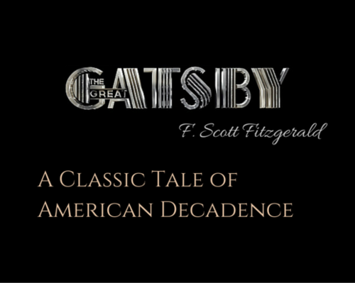 Content f. scott fitzgerald   a classic tale of american decadence