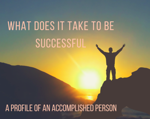 Content what does it take to be successful