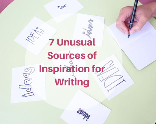 7 unusual sources of inspiration for writing